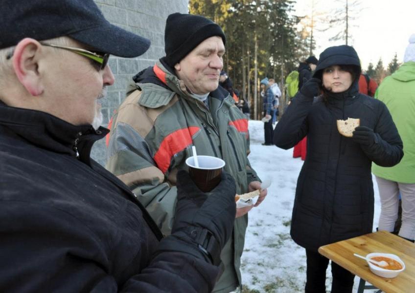 Silvestrovská procházka 2012 - Veselice