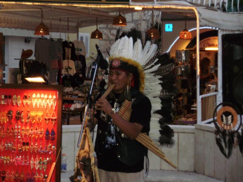 Indián na Bašce